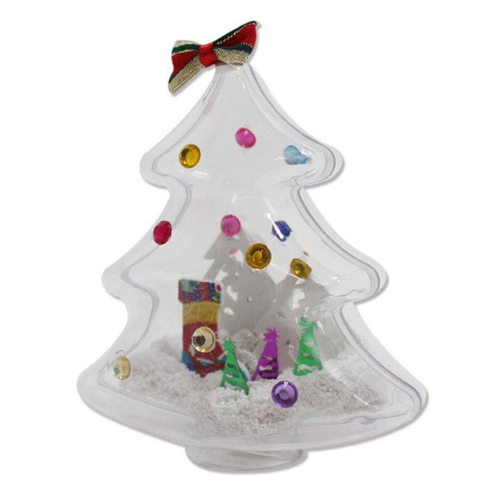 [오피시나] 크리스마스 투명 트리 만들기