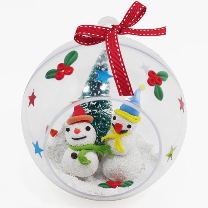 [아트공구] [툭툭이네0230]크리스마스볼 만들기