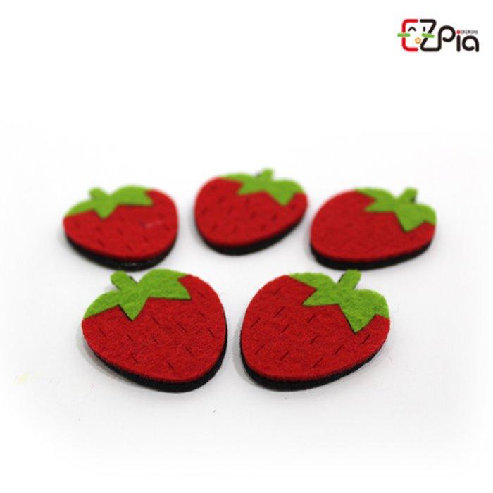 [오피시나] 펠트꾸미기-딸기
