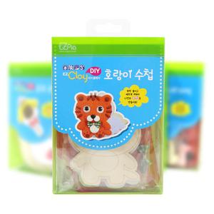 [아트공구] [툭툭이네00469] 호랑이 미니수첩 만들기_폼클레이