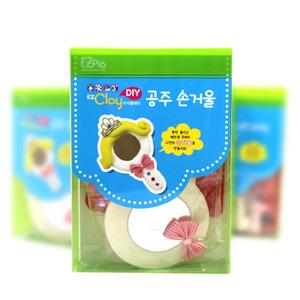 [아트공구] [툭툭이네00470] 공주거울 만들기_폼클레이