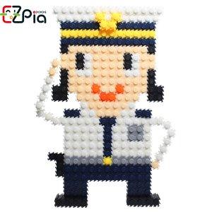 [오피시나] 이지 툭툭블럭 직업시리즈-경찰