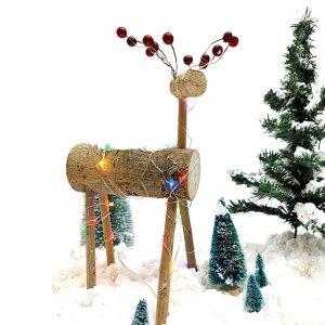 [이지피아몰] LED 꽃사슴 트리 만들기