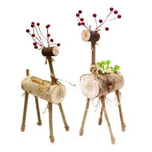 [아트공구] [툭툭이네007]다육이 사슴 화분 만들기